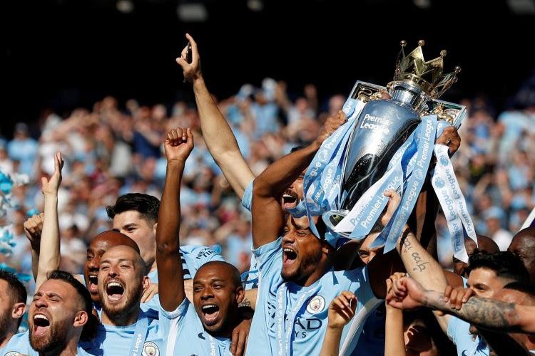 Kompany Vincent Manchester City Champion