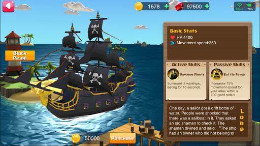 Code Triche Battle Ships - PVP APK MOD screenshots 1