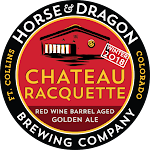 Horse & Dragon Chateau Racquette Red Wine Barrel Aged Golden Strong Winter 2018