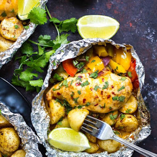 Southwest Foil Chicken Packets Recipe