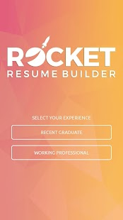 Rocket Resume Builder- screenshot thumbnail
