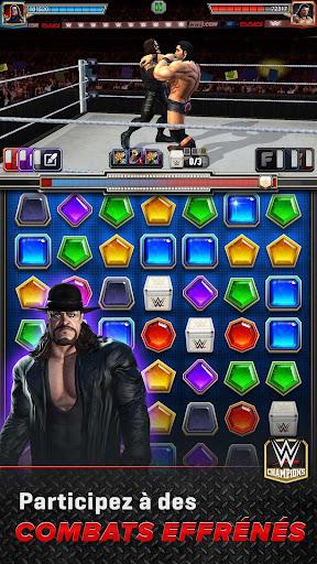 WWE Champions - Jeu de rôle et puzzle gratuit  captures d'écran 1