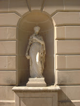 Photo: statue by the front door