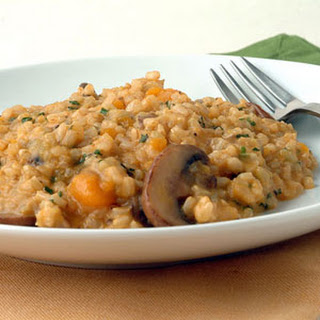 Brown Rice Risotto with Pumpkin