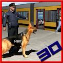 Police Dog Subway Chase Crime icon