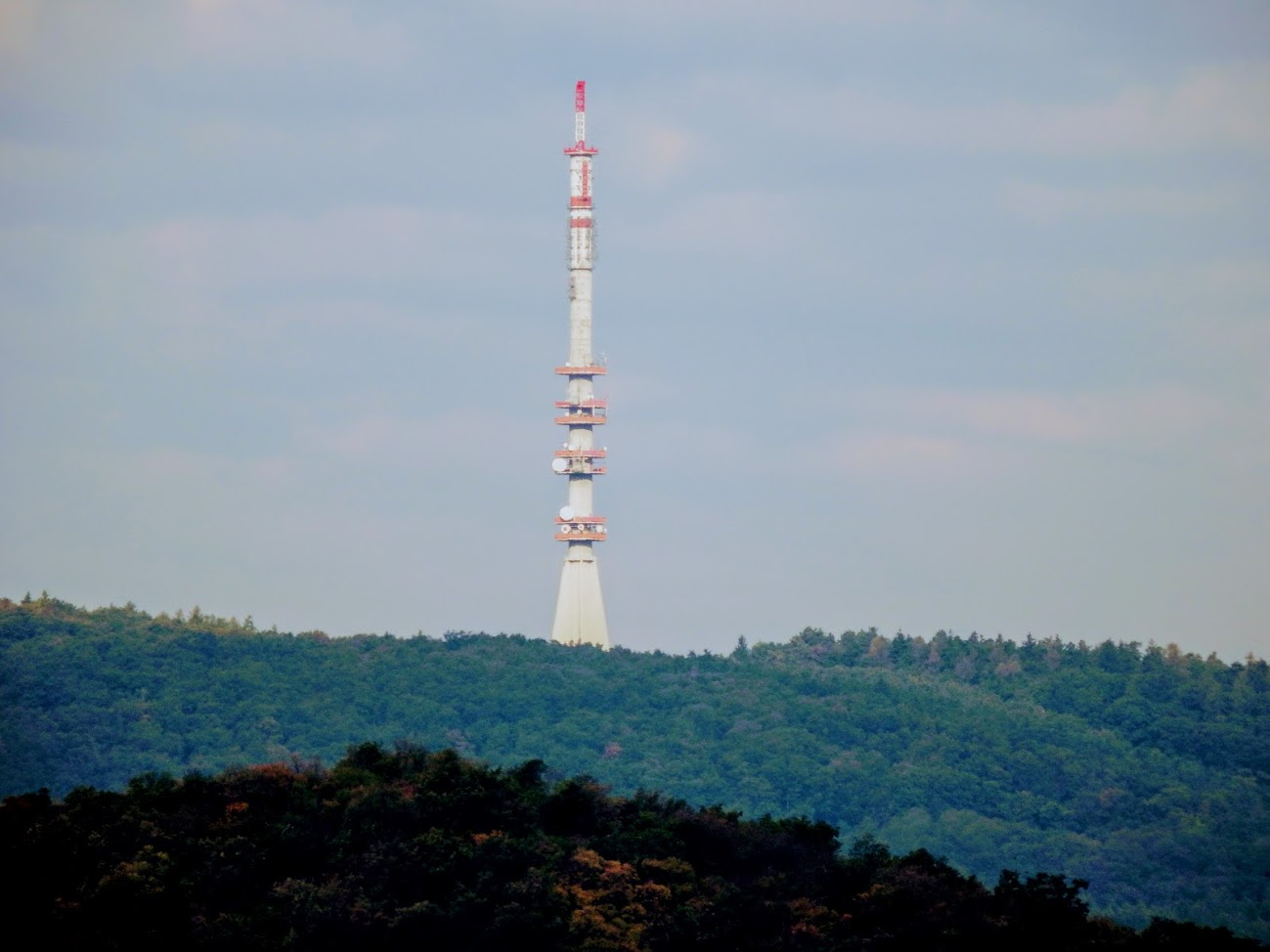 Sopron/Dalos-hegy - TV-URH gerincadó állomás