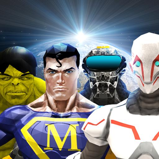 SuperHeroes Fight Robots