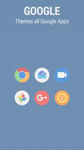 Flatro Icon Pack - náhled