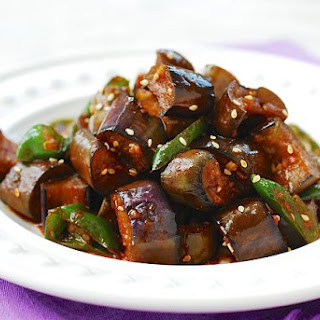 Gaji Bokkeum (Stir-fried Eggplants)