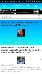 Tutto Basket.net - RSS screenshot 1