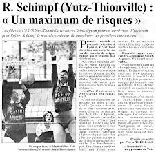 Photo: 14-10-95 N2F Yutz reçoit Saint-Aignan