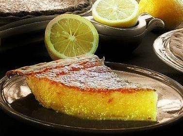 Lemon Tea Pie In Cream Cheese Crust Recipe