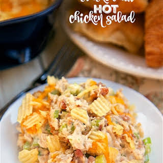 Hot Chicken Salad With Potato Chips Recipes.