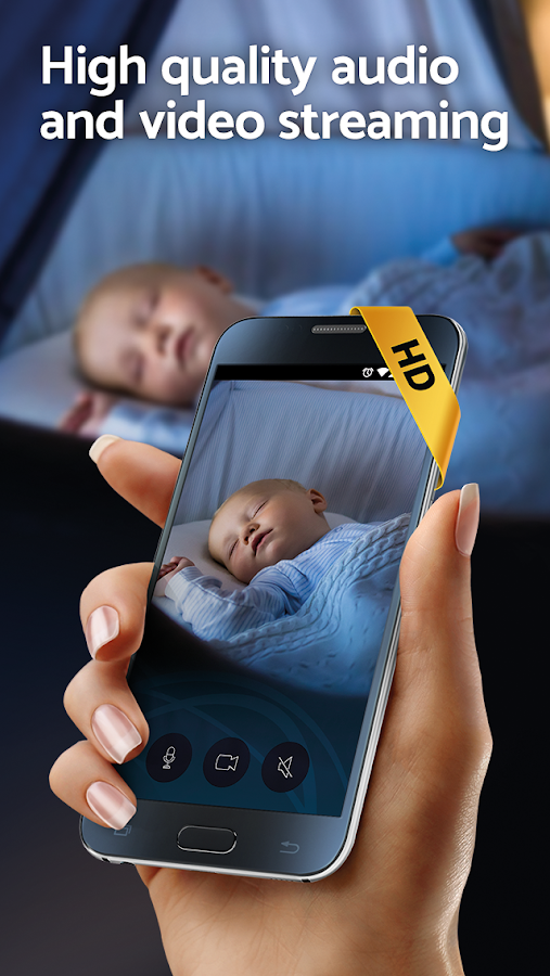 BabyCam: Baby Sleep Monitor & Nanny Cam - 3G, Wifi- screenshot