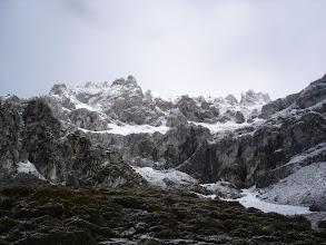 Photo: La mole de montaña es impresionante