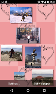 Romantic Photo Gallery Live Wallpaper - náhled