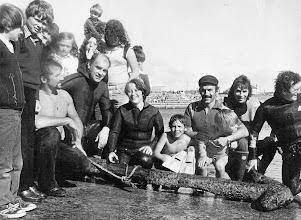 "Photo: ""Intrinsic"" Anchor recovered, Kilkee Aug '79"