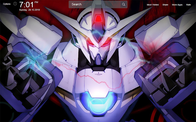 Mobile Suit Gundam 00 Wallpapers Theme