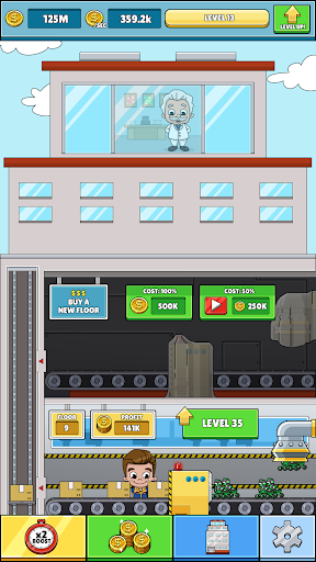 Download Idle Box Tycoon - Incremental Factory Game on PC