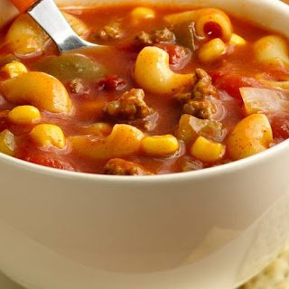 Chili-Mac Soup