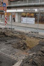 Photo: Opgravingen Markt Deinze