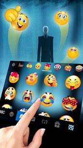 Slender Evil Man Keyboard Theme 1.0 Latest MOD APK 3