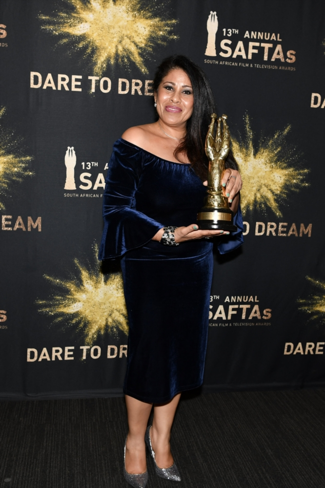 Ilse Klink, won a Best Supporting Actress award during the 13th annual SAFTAs.