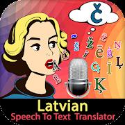 Latvian Speech To Text  Translator