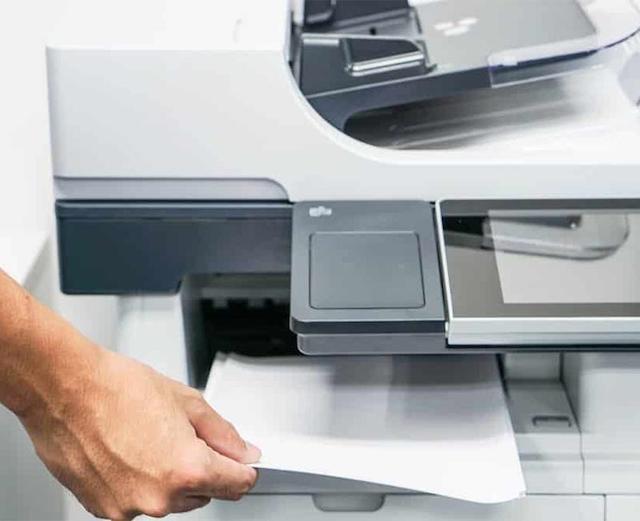 Các bạn nên kiểm tra chất lượng bản in trước khi đặt mua máy photocopy cũ