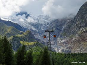 Photo: Spielboden Cable Car, Saas Fee, Switzerland
