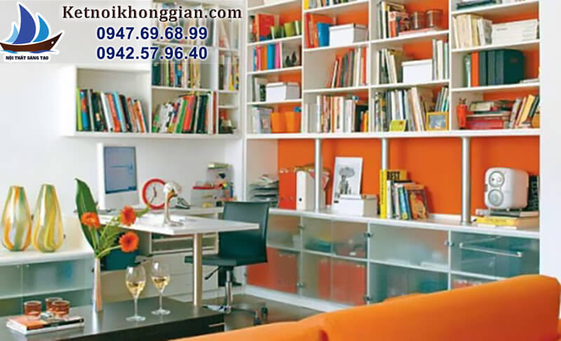 thiết kế phòng đọc sách gia đình đẹp