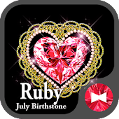 Ruby - July Birthstone Theme