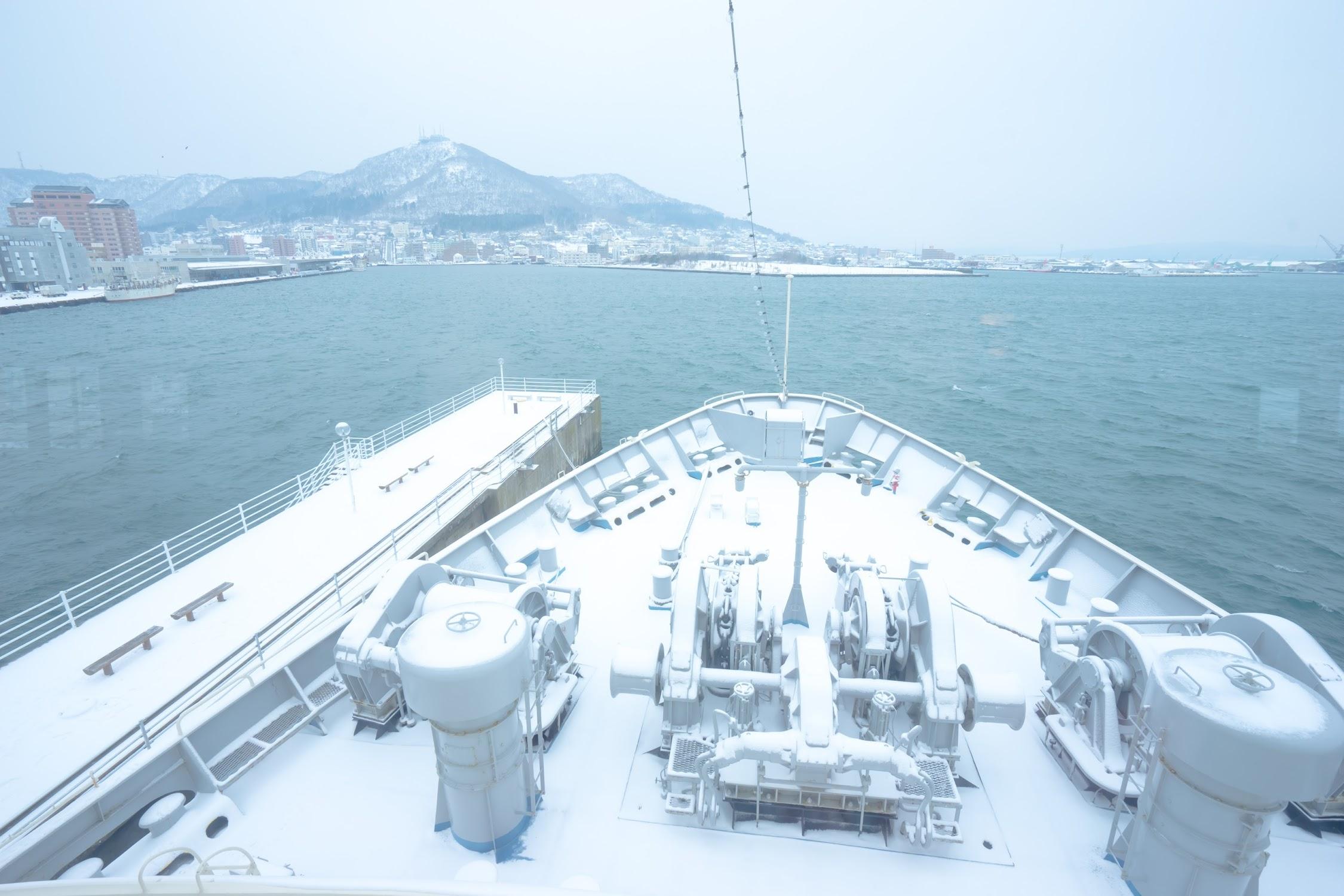 函館市青函連絡船記念館摩周丸 甲板