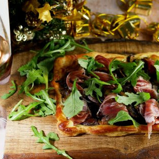 Mushroom and Iberico Ham Tarts Recipe