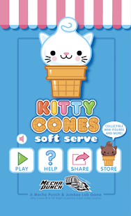 Kitty Cones - Soft Serve- screenshot thumbnail