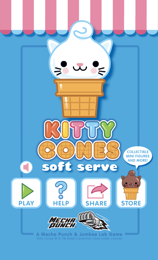 Kitty Cones - Soft Serve- screenshot
