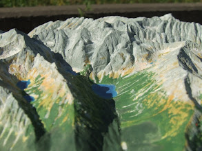 Photo: Rybi Potok Valley, with Morskie Oko lake (See Eye), High Tatra Mts. Relief Map