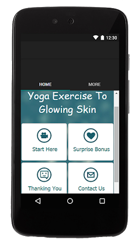 android Yoga Exercise To Glowing Skin Screenshot 0