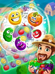 Funny Farm match 3 game APK screenshot thumbnail 21