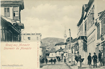 Photo: 5. Hermann Seibt - Монастир 1898 година - Широк Сокак