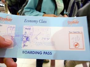 Photo: nach einer Woche fliegen wir zurück nach Kathmandu