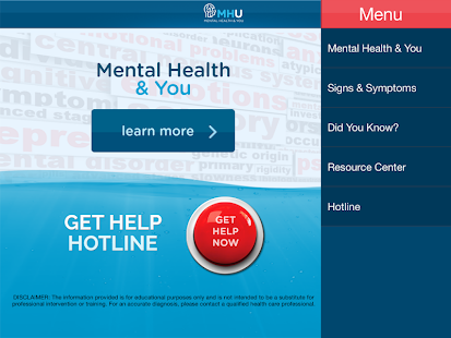 MHU - Mental Health & You- screenshot thumbnail