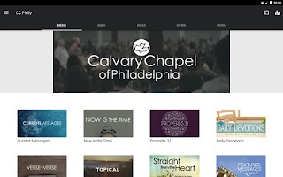 Screenshot of Calvary Chapel of Philadelphia