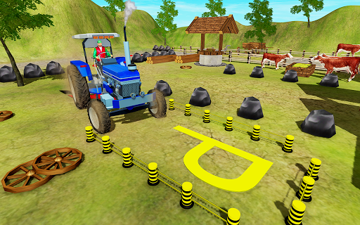 New Village Farming Tractor Parking Game 2018 1.0 screenshots 1