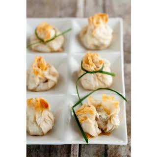 Crab Stuffed Mushrooms En Croute.