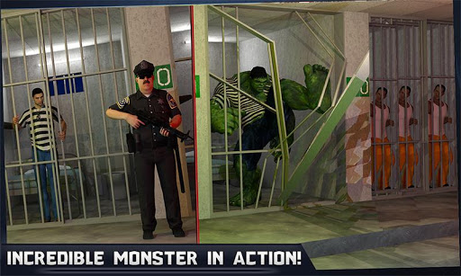 Incredible Monster Hero: Super Prison Action Games  screenshots 2