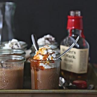 Chocolate Whiskey Pots de Creme.