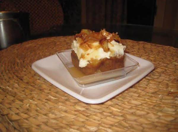 Individual Coconut Pineapple Cakes With Coulis Recipe