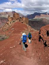 Photo: Backpackers, South Kaibab Trail, Grand Canyon National Park, Arizona