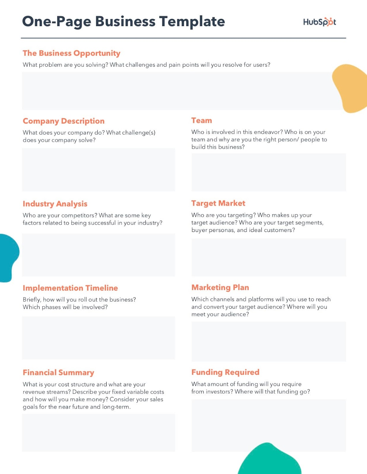 small business consulting business plan